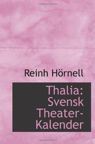 Thalia: Svensk Theater-Kalender