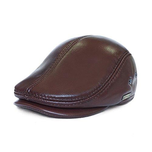 lethmik-sombrero-de-hombre-con-visera-tapa-plana-de-cuero-texanos-vaqueros-ivy-gorros-tardan-caza-co