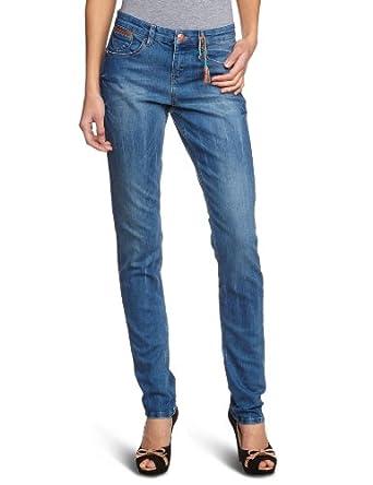 Mexx - Jean - Skinny/Slim Fit - Femme - Bleu (435) - FR : 27W (Taille fabricant : 27)