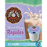 Donut Shop Coffee Sweet   Creamy Regular Iced Coffee K Cups