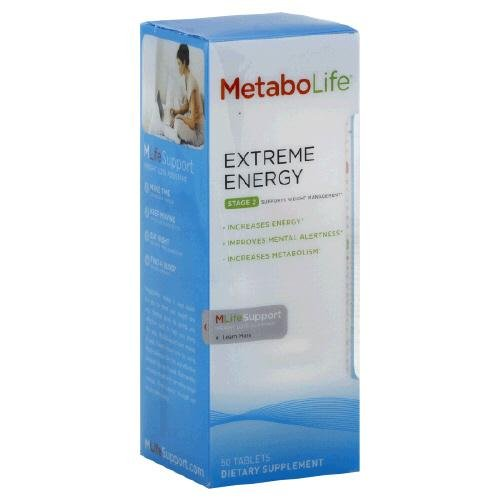 Metabolife Extreme Energy Tablets, 50 Count