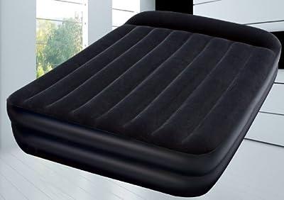 Premium-Luftbett 203x152x46 cm mit externer Pumpe-selbstaufblasend (2 Personen Doppelbett)
