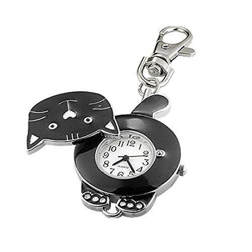 sourcingmapr-noir-charmantes-chat-en-forme-de-unique-porte-cles-montre