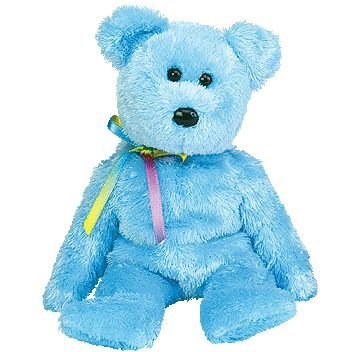 TY Beanie Baby - SHERBET the Bear (Blue Version) - 1
