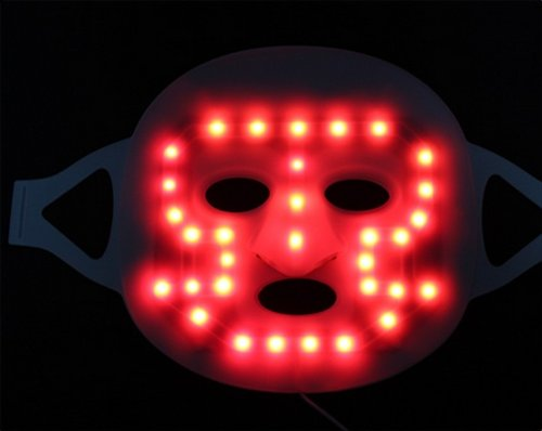 Huhushop(Tm) Beauty Led Light Therapy Face Mask Skin Photon Rejuvenation Acne Remover- Anti-Acne Anti-Aging 2 In 1