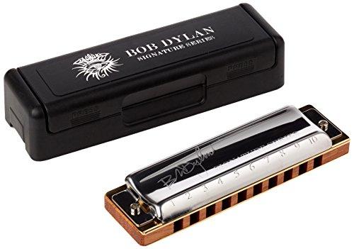 Hohner - Armonica in chiave di Do con autografo di Bob Dylan, edizione limitata