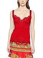 Dolce & Gabbana Top Seda (Rojo)