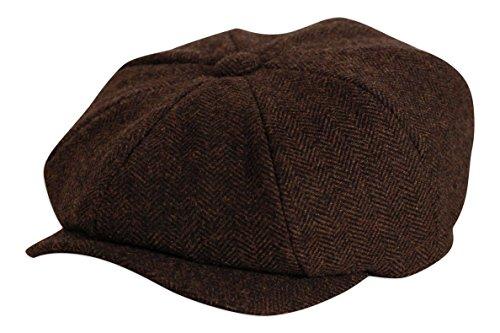 pulsante-shelby-marrone-pesce-tappo-superiore-by-gamble-gunn-brown-57cm