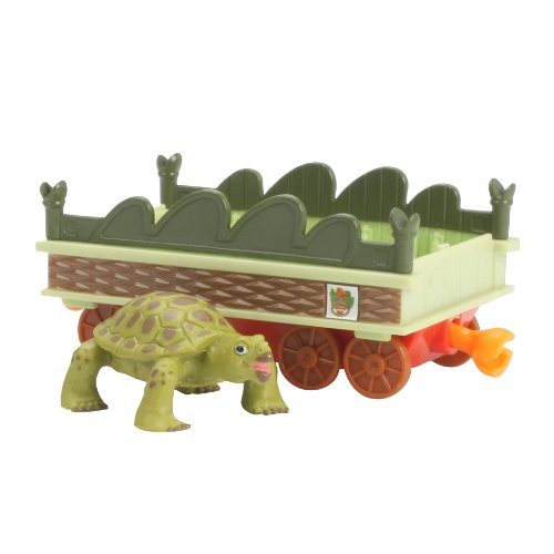 Learning Curve Dinosaur Train Collectible Dinosaur With Train Car - My Friends Have Armor: Adam