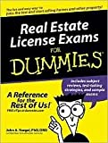 img - for Real Estate License Exams For Dummies [Paperback] book / textbook / text book