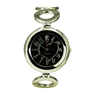 Svviss Bells Svviss Bells Amazing Black Dial Stainless Steel Watch for Women