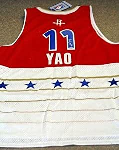 Autographed Yao Ming Jersey - Reebok 2006 All Star Game ...