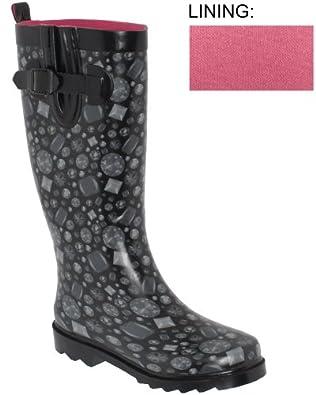 Amazon.com: Capelli New York Shiny Tonal Glam Gems Sporty Rubber Rain