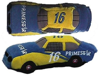 NASCAR~PRIMESTAR #16 BEANIE RACERS - TED MUSGRAVE