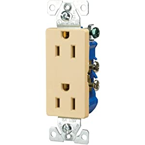 Cooper Wiring Devices on Amazon Com  Cooper Wiring Devices 1107v Box 15 Amp 2 Pole 3 Wire 12