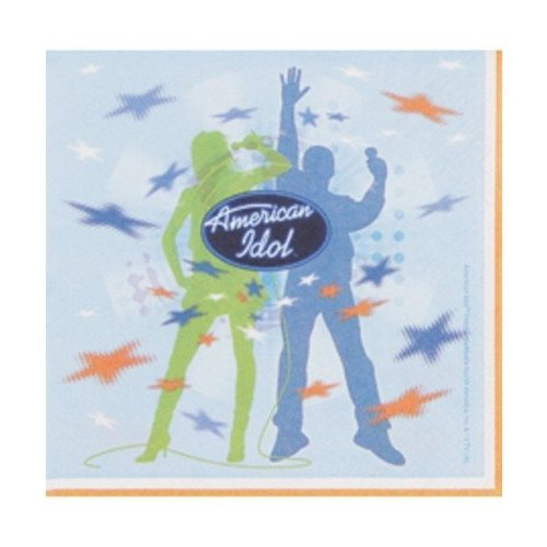 American Idol Luncheon Napkins - 1