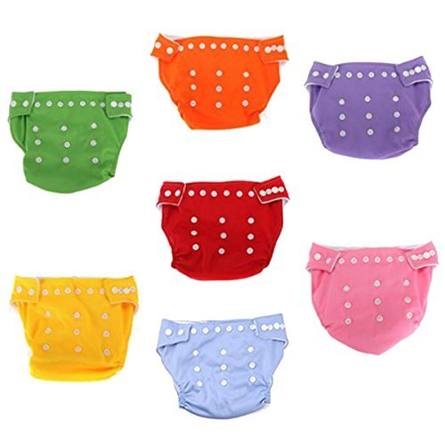 paradise-kiss-7x-reusable-adjustable-washable-baby-soft-cloth-nappy-diaper-one-size