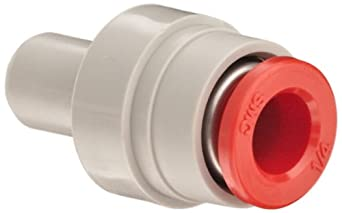 "SMC KDMP-07 PBT Multi-Connector Plug, 1/4"" Tube OD"