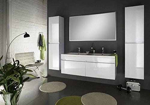 SAM-Badmbel-Set-Parma-4tlg-Komplettset-in-Hochglanz-wei-140-cm-breiter-Doppel-Waschplatz-Badezimmermbel-bestehend-aus-1-x-Spiegel-1-x-Doppel-Waschplatz-und-2-x-Hochschrank
