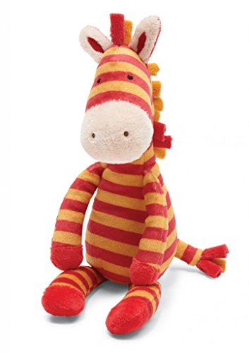 Jellycat Zany Zebra Rattle front-994227