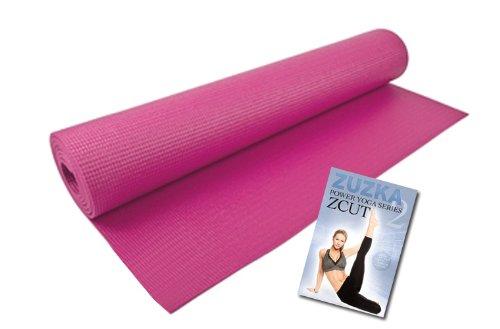 Zuzka Light Zcut Power Yoga Dvd Program / Yoga Equipment & Bonus (Zuzka Light Zcut Power Yoga Vol. 2 + Pink Yoga Mat)
