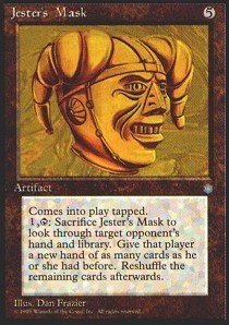 Magic: the Gathering - Jester's Mask - Ice Age