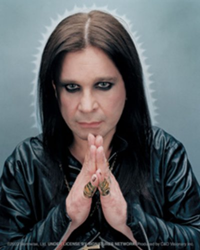 Licenses Products Ozzy Osbourne Praying Sticker