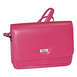 Buxton Double-Flap Mini-Bag with Total Wallet Organization (Dragon Lily)