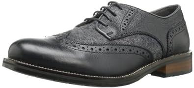 Steve Madden Men's Elroy Lace-Up,Black/Grey,7 M US