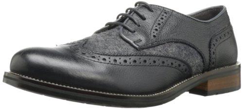 STEVE MADDEN 史蒂夫·马登 Eddee2 男士雕花真皮系带休闲鞋 $46.06(约¥390,还可叠加邮件8折码)