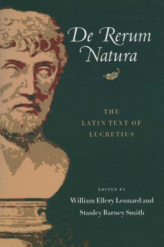De Rerum Natura: The Latin Text of Lucretius (Latin and...