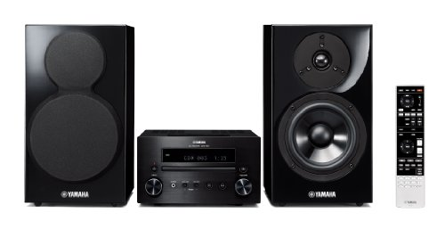 Review and Buying Guide of Buying Guide of Yamaha MCR-555 Micro hi-fi System - Black