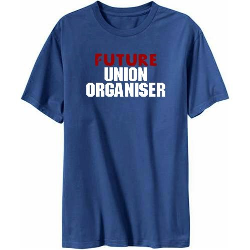 Future Union Organiser Mens T-shirt