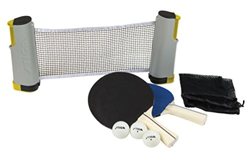 Lowest Prices! STIGA Retractable Anywhere Table Tennis Set