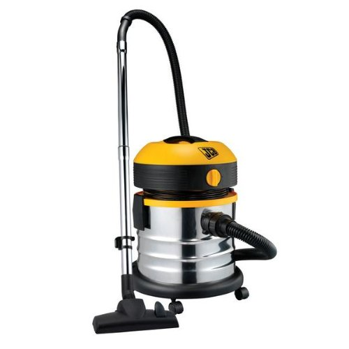 JCB 70340 Wet and Dry Vacuum Cleaner 20 Litre, Stainless Steel