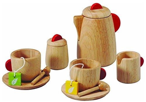 Plan Toy Tea Set(Solid Wood Version)