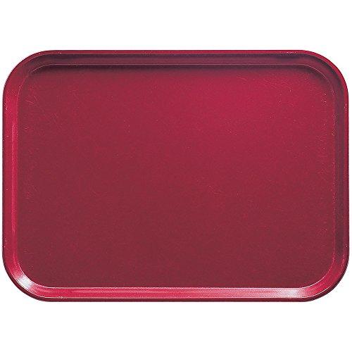 Camtray, Metric, 37.5 Cm X 53 Cm, (14-3/4'' X 20-7/8''), High-Impact Fiberglass, Cherry Red, Nsf (12 Pieces/Unit)