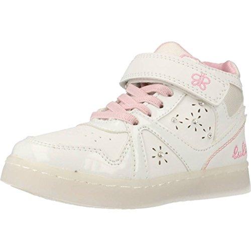 Calzature sportive per ragazza, color Bianco , marca LULU, modelo Calzature Sportive Per Ragazza LULU SCINTILLA Con Luces Bianco