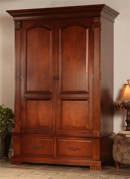 Bon Innovative Bradford High Definition Entertainment Center Armoire (Classic  Cherry) BHD CC