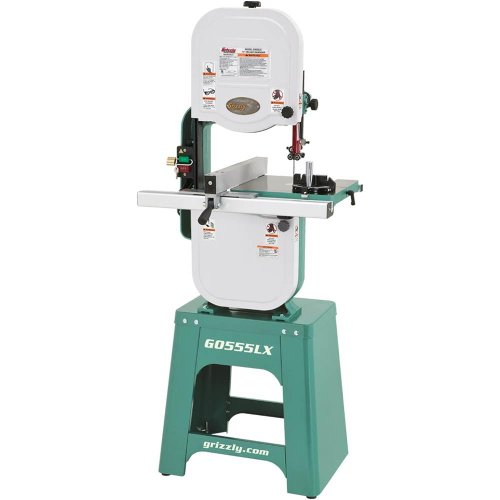 Grizzly G0555LX Deluxe Bandsaw, 14-Inch image