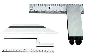"Starrett 453E Inch Reading Diemakers' Square Complete With Standard, Bevel, Narrow And Offset Blades, 2-1/2"" Size"