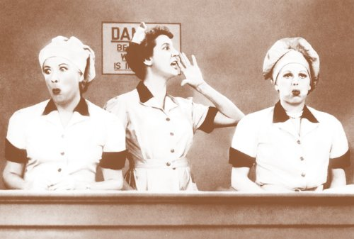 Chocolate Factory Episode, I Love Lucy