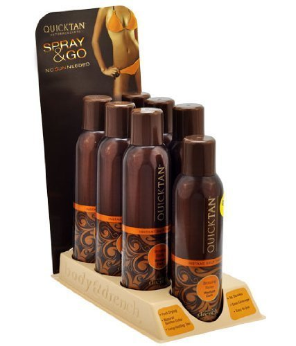 display-lot-7-body-drench-quick-tan-tanning-mist-sunless-tanner-sun-kissed-spray