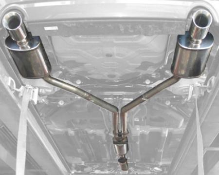 Stillen 508250 Stainless Steel Cat-Back Exhaust System - 07-12 Altima Sedan 3.5L front-890485