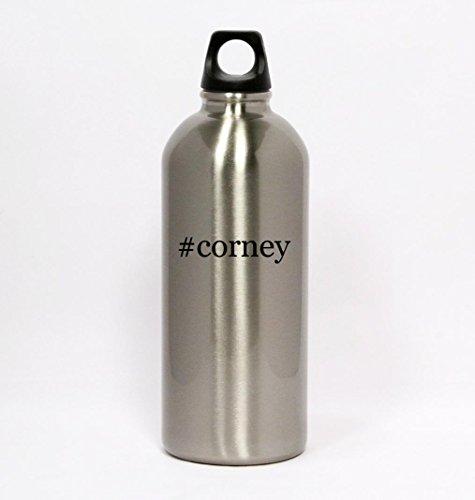 #corney - Hashtag Silver Water Bottle Small Mouth 20oz (Corney Ware compare prices)