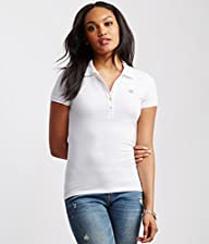 Aeropostale Women's A87 Piqu Polo Shirt