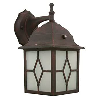 Efficient Lighting Rustic Exterior Lantern Wall Fixture Energy Star Qualified Wall Porch