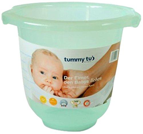 Tummy Tub 100500 Vaschetta Ergonomica e Anatomica per Neonati, Verde Trasparente