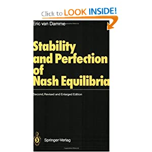 Amazon.com: Stability and Perfection of Nash Equilibria ...