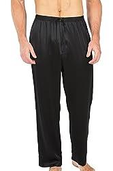 Men's 100% Silk Pajama Pants (Uomo) Luxury Gifts by TexereSilk